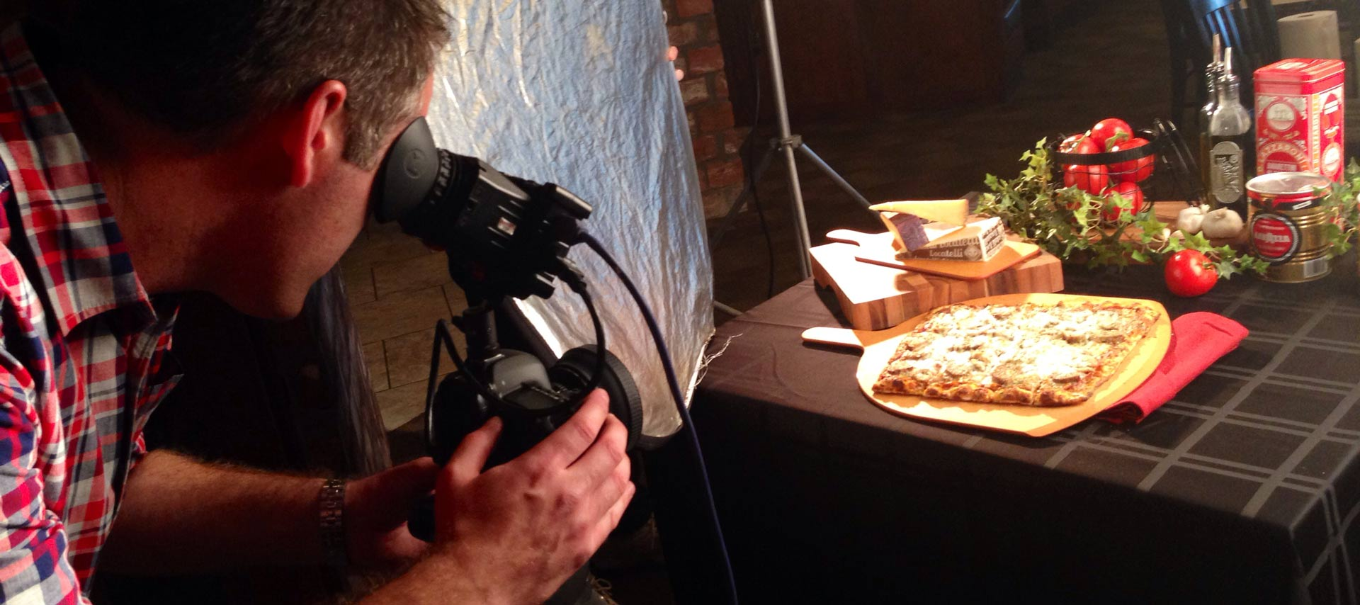 Jason DP shoots food commercial