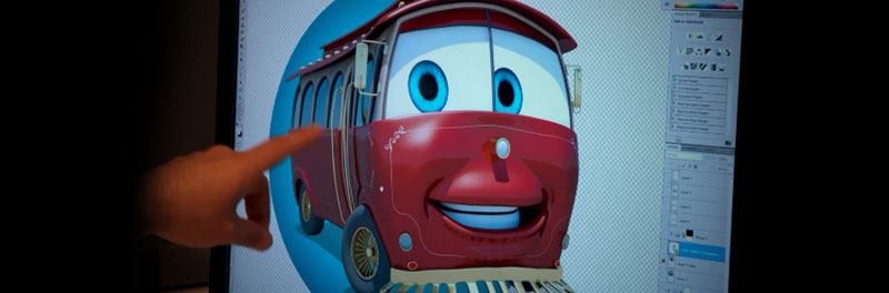 """""""Sparky The Trolley"""": Creating a Pixar-Inspired Animated Character, Part 1"""