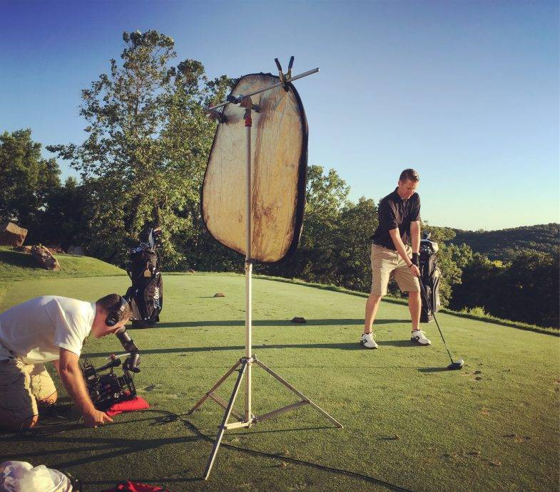 Video production in Branson Missouri at Top of the Rock Golf Course Buffalo Ridge Paynes Valley