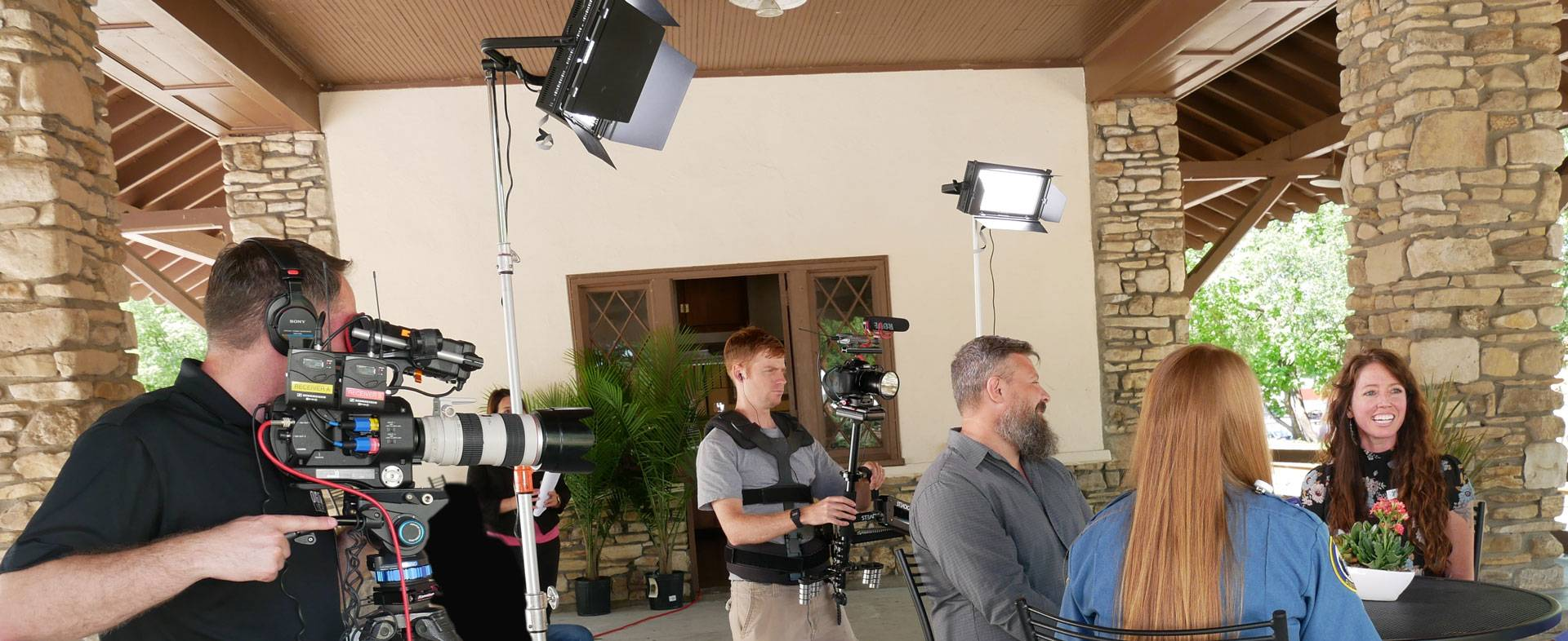 Video production company captures corporate commercials in Branson, Missouri